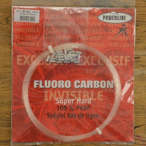 Powerline Fluorocarbon 80 lbs
