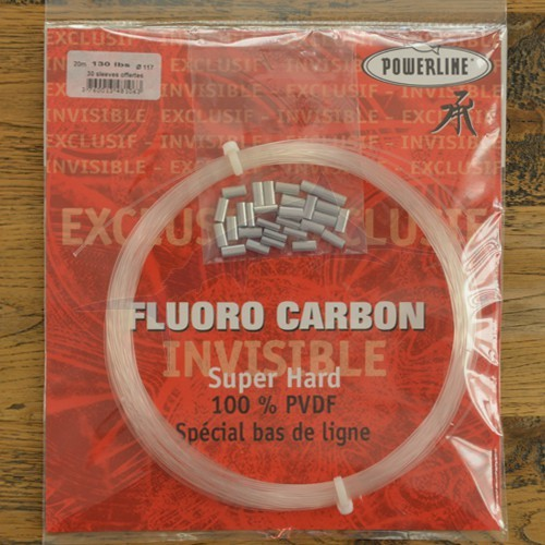 Powerline Fluorocarbon 130 lbs