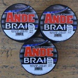 Ande Tresse Graphite - 30 lb