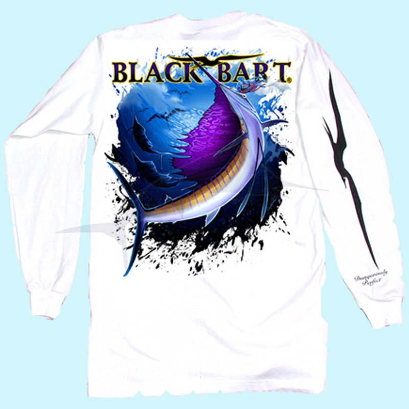 Black Bart Sailfish LS Tee