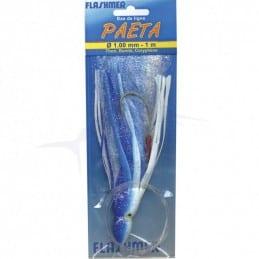 Lure Flashmer Paeta Monté - Blue / White