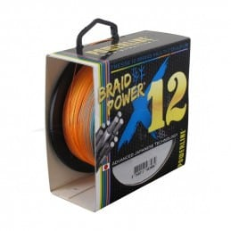 Powerline Braid Power X12 300 m - Grise