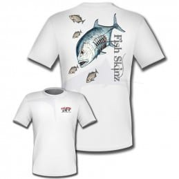 T-Shirt Fish Skinz Performance Jacked Ulua