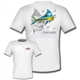T-Shirt Fish Skinz Performance Mahi Mahi