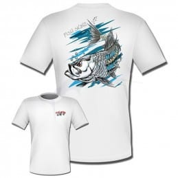T-Shirt Fish Skinz Performance Marble Eye Tarpon