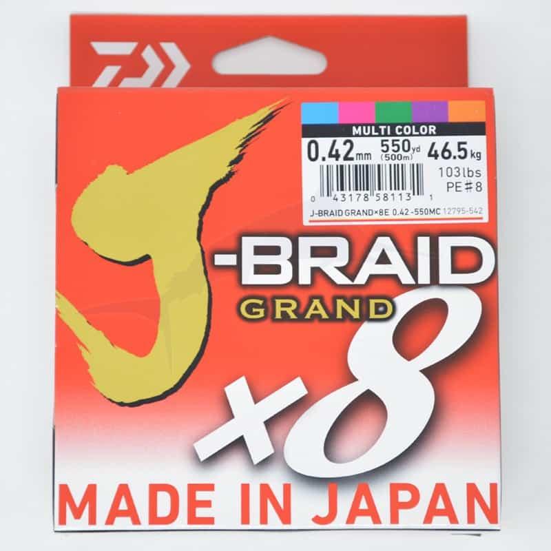 Daiwa J-Braid Grand X8 (500m) - 103 lb