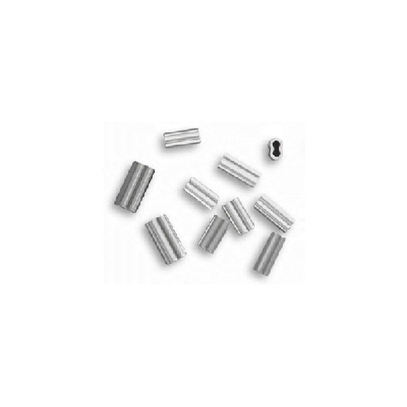 Crimping sleeves aluminum double