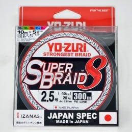 Yo-Zuri Tresse Superbraid 8x - 45 lb