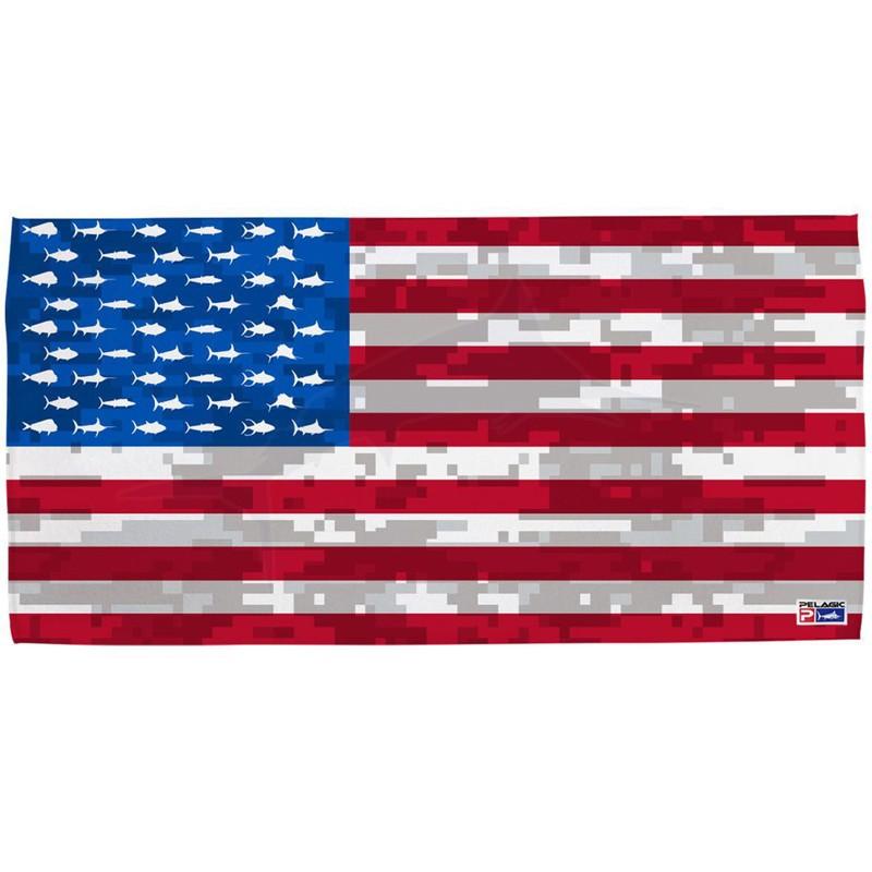 Pelagic Americamo Towel