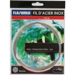 Flashmer Fil d'Acier inox 49 Brins
