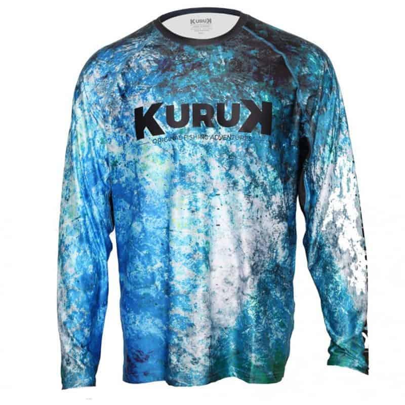 Expedition 40 Blue GT L-Shirt Kuruk Fishing