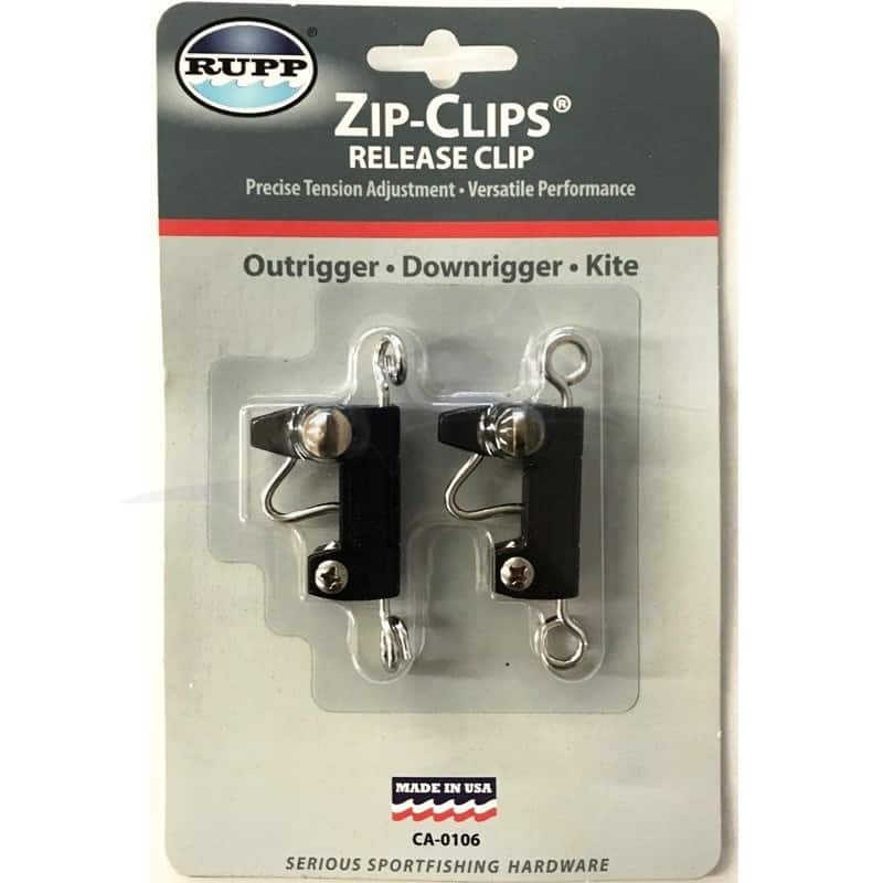 2 Release Clips Fishing for Kite Outriggers Downriggers Trolling ~ USA Stock
