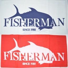 Serviette Fisherman Logo