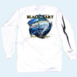L-Shirt Black Bart Wahoo