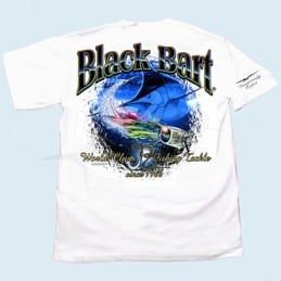 T-Shirt Black Bart Marlin Lure