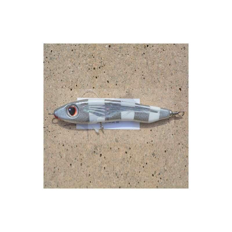 Lure ASWB RSS 70-155mm - White-Silver Stripes