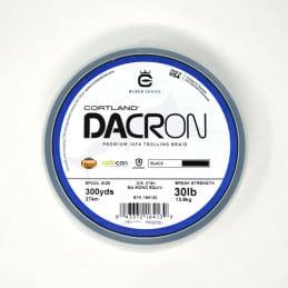 Cortland Dacron Premium IGFA Trolling Braid (300 Yds) - Black - 130 lb