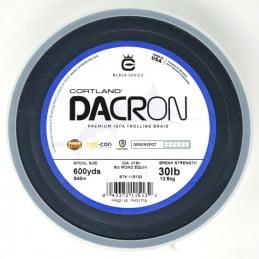 Dacron Cortland Premium IGFA Trolling Braid (600 Yds) - GreenSpot - 30 LB
