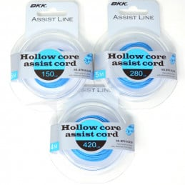 Assist Line BKK Hollow Core - 150 LB