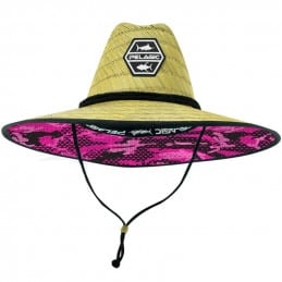 Pelagic Baja Straw Sunhat Ambush - Blue (1)