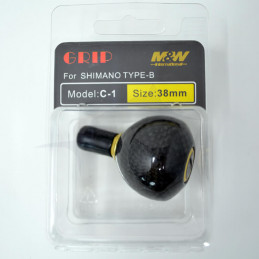 Boule adaptable M&W en Carbone (C-1) emballage