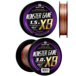 Hearty Rise Tresse Monster Game 300m et 600m Multicolore