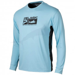 L-Shirt Pelagic Aquatek Pro - Charcoal - Avant