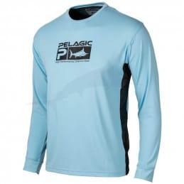 Pelagic Aquatek Pro LS - Charcoal - Front