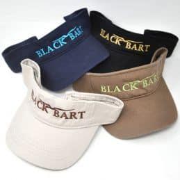 Black Bart Frigate Visor - Beige