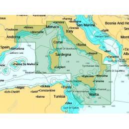 Carte C-MAP Max-N+ Local CENTRAL MEDITERRANEAN