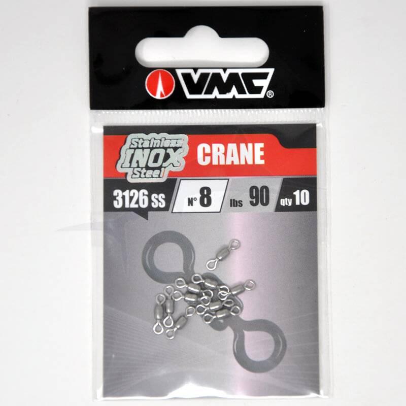 Emerillons VMC Crane Swivel Inox 3126 - N°8