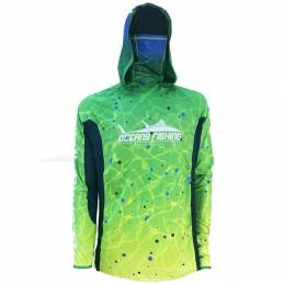 L-Shirt Oceans Fishing Mahi Mahi V2