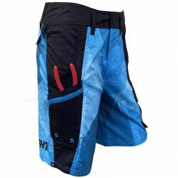 Oceans Fishing Blue Storm Technical Shorts