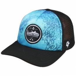 Casquette Oceans Fishing School Fish