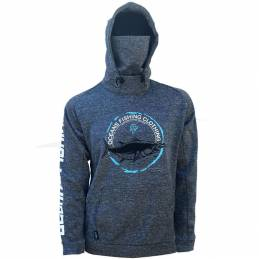 Sweat-shirt Oceans Fishing Grey Tuna Polartech