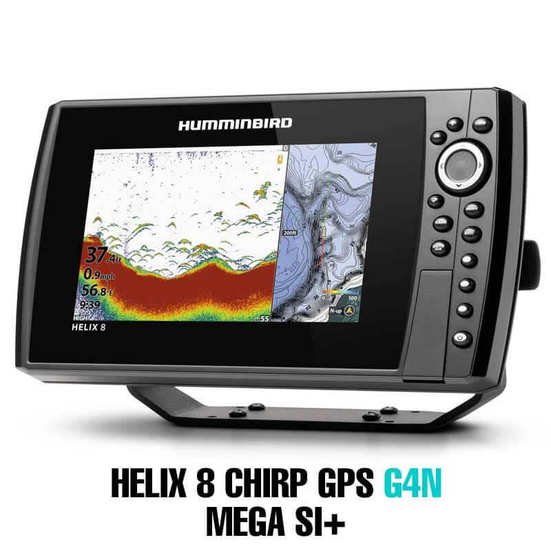 Humminbird Helix 8G4N CHIRP Mega SI+