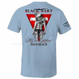 T-Shirt Black Bart Tag and Release