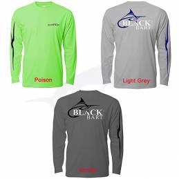 L-Shirt Black Bart Hi-Perfromance - Poison