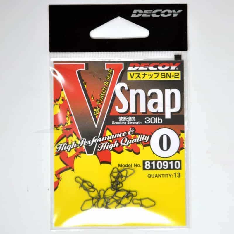 Agrafes Decoy V Snap SN-2 - 30 LB