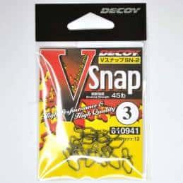 Agrafes Decoy V Snap SN-2 - 45 LB