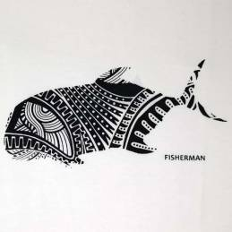T-Shirt Fisherman GT - Noir