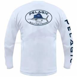 L-Shirt Pelagic Built Fish - Marlin - Noir - Arriere