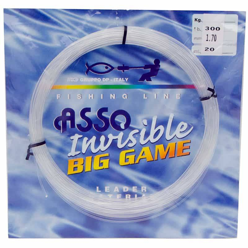 Asso Fluorocarbon Invisible Big Game 20m - 300LB