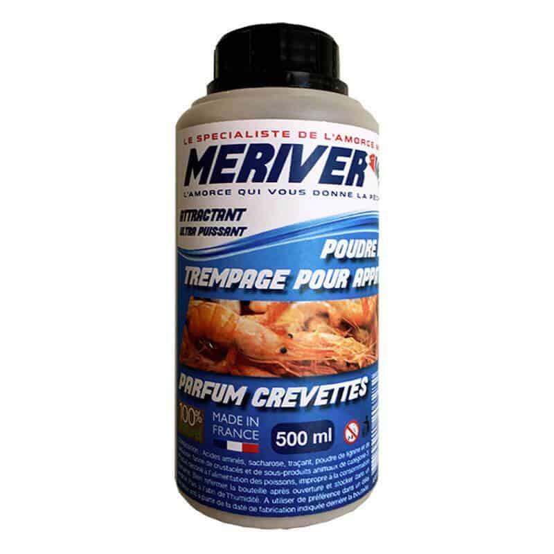 Poudre de trempage parfum crevettes Meriver 500 ml
