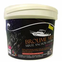 Mixed Broumé Xboost Anchovy and Sardines 5 KG With fillet