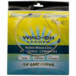 Relix Wind-On Leader Fluoro Carbone - 50 LB