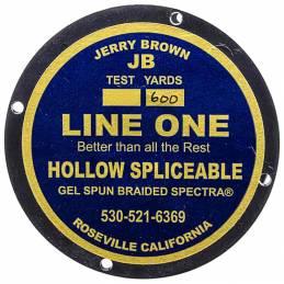 Jerry Brown Spliceable Hollow (600YDS) - 80 lbs Jaune