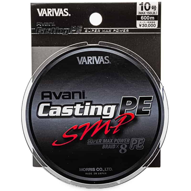 Tresse Varivas Avani Casting PE SMP 600m - 150 lb