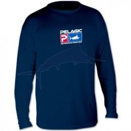 L-Shirt Pelagic Aquatek - Blanc - avant