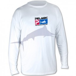 Pelagic Aquatek LS - White - front